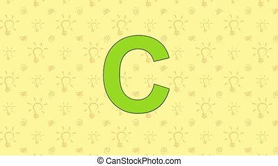 Cat. English ZOO Alphabet - letter C - Animated English ZOO...