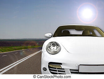 Fast & Beauty on the road - Very fast and beautiful car on...