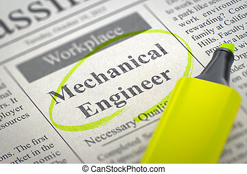 We are Hiring Mechanical Engineer. 3D. - Mechanical Engineer...