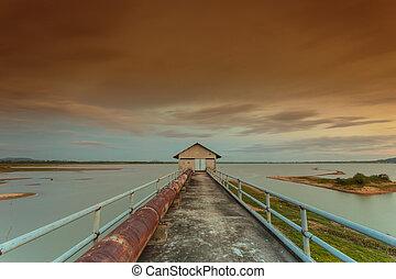 reservoir - View the beautiful natural reservoir