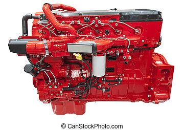 Heavy duty diesel engine - Modern six cylinder heavy duty...