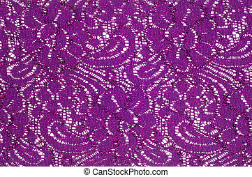 lace fabric texture. background. Isolated on white...