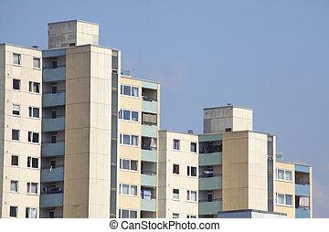 Hochhaus, Grohner Düne, Bremen, Deutschland, Europa