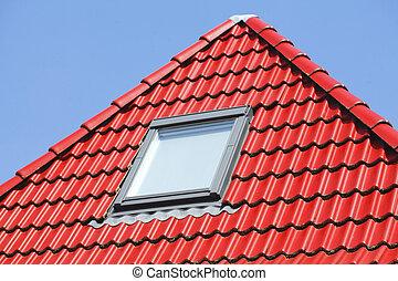 Dachfenster, Deutschland, Europa