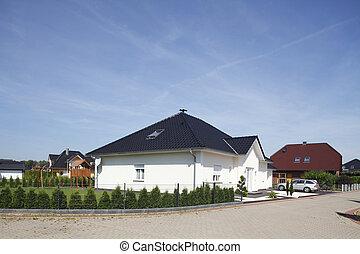 Wohnhäuser, Deutschland, Europa