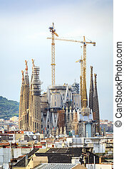 Sagrada Familia, Barcelona, Spain - Sagrada Familia by...