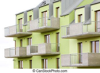 new housing estate, Czech Republic
