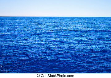 blue sea - Beautiful sky and blue sea