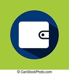 man tourist traveler wallet money design graphic - man...