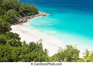 Anse Georgette - Beautiful and a famous beach Anse Georgette...