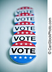badges for the United States election