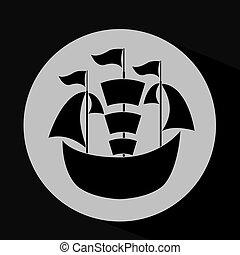 transportation silhouette design