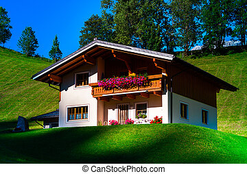 Guesthouse in calm place, mountains and nature, Austria,...