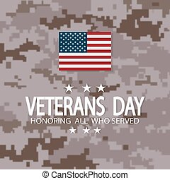 Veterans day USA.