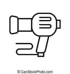 blow dryer vector illustration design