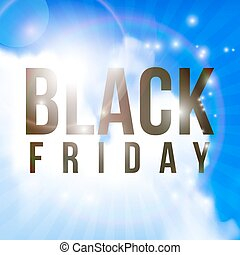 Black Friday sale - Black Friday Sale Abstract Vector shiny...