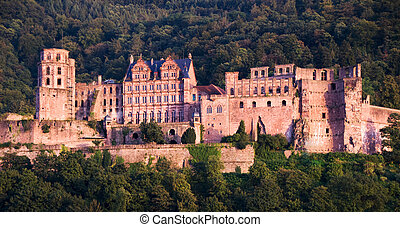 The Heidelberg red castle