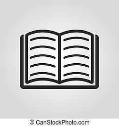 Book icon. vector design. Library symbol. web. graphic. JPG....