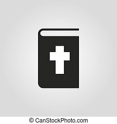Bible icon. vector design. Religion symbol. web. graphic. JPG. AI. app. logo. object. flat. image. sign. eps. art. picture
