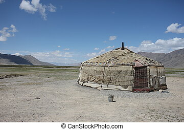 Pamir region Russian Federation Central Asia mountain...