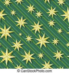 Eight-pointed stars Seamless Pattern Vector - Eight-pointed...