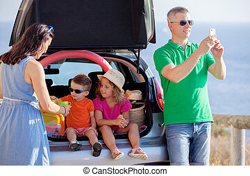road trip, family summer vacation