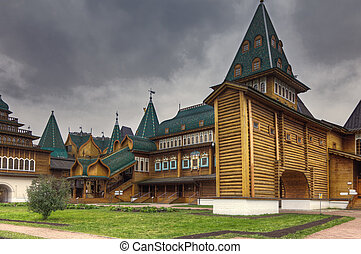 Ancient Tsar Alexis palace - Ancient Tsar Alexis's palace in...