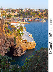 Old town Kaleici in Antalya, Turkey - Old town (Kaleici) in...