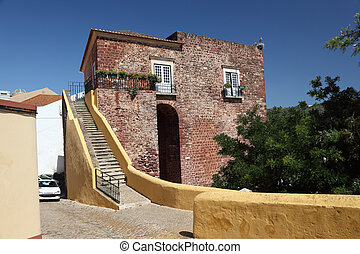 Ancient house in the old town of Silves, Portugal