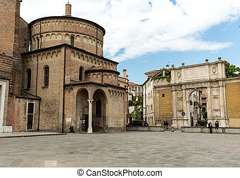 The Baptistery of Cathedral of Assumption of Mary of Padua....