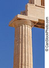 column of Parthenon temple