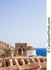 Byzantine town of Monemvasia