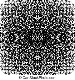 Chaotic abstract monochrome texture with random triangles