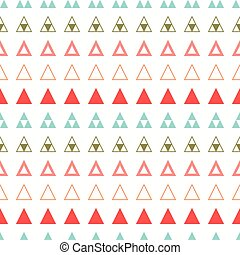 Geometric line color abstract hipster seamless pattern with...