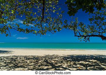 Tropical beach of Khao Lak in Thailand
