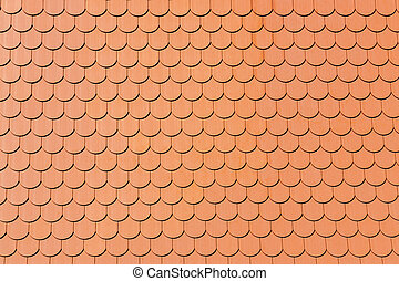 tiled roof backround - full frame tiled roof background