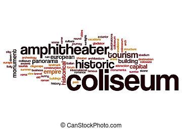 Coliseum word cloud