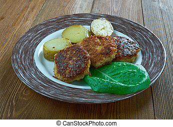 Finnish Salisbury steak - Jauhelihapihvi - Finnish version...