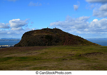 A Cool Look at Arthur's Seat - A unique perspective of...