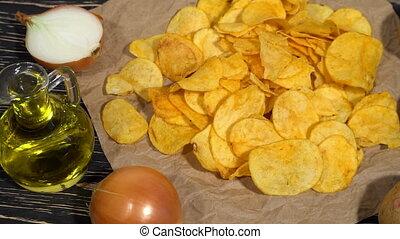Onion potato chips dolly