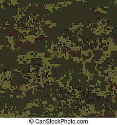 Digital pixel camouflage seamless pattern for your design....