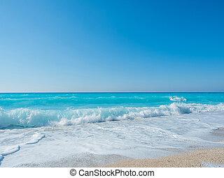 beach caribbean sea