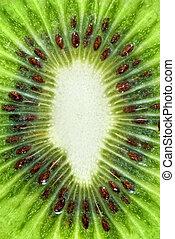 macro photo of kiwi