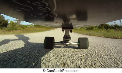 Skateboarding Point of View - skateboarding skateboarder...