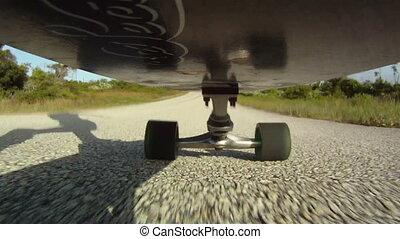 Skateboarding Point of View - skateboarding skateboarder...