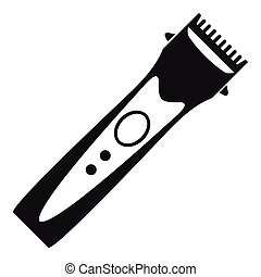 Clipper icon, simple style - Clipper icon. Simple...
