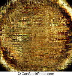 Spherical grunge background with vintage style graphic...