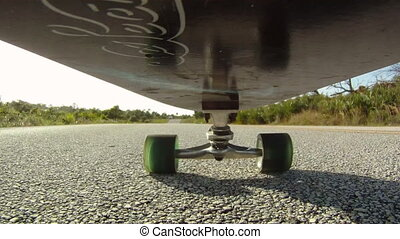 Skateboard: Point of View - skateboarding skateboarder point...