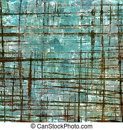 Distressed texture with ragged grunge overlay. Wrinkled...