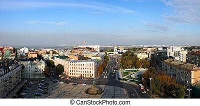 Panorama of Kyiv